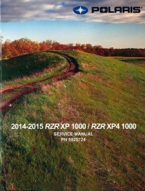 2014-2015 Polaris RZR XP,XP4 1000 Service Manual