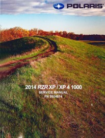 2014 Polaris RZR XP,XP4 1000 Service Manual