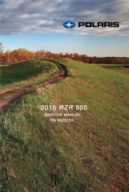 2015 Polaris RZR 900 Service Manual