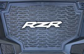 2011 RZR Grill Sticker
