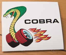 Cobra on tires