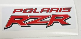 Polaris RZR red & black 2