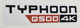 Typhoon Q500 4K Sticker