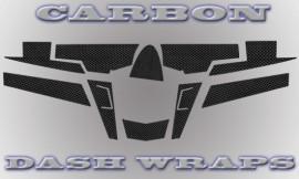 RZR 3M Carbon Fiber Dash Wraps