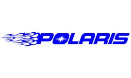 Flaming Polaris sticker