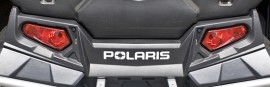 2008-2012 Polaris rear sticker