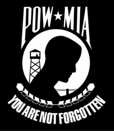 POW MIA Sticker