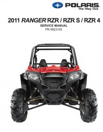 2011 Polaris RZR 800 Service Manual