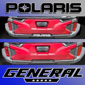Polaris General Rear Sticker